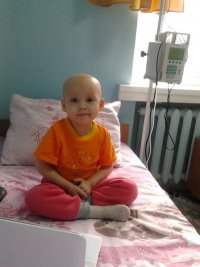 Ksenia Popova, born in 2010 – acute lymphoblastic leukemia