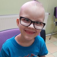 Artem Galushka, born in 2014 - Brain cancer (medulloblastoma)