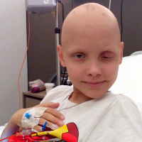 Oleg Grigorov, born in 2009 - Rhabdomyosarcoma of the orbit of the eye. Relapse.