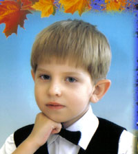Vlad Gudkov, 8 years old – needs a voice processor replacement