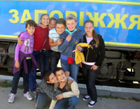 An unforgettable Saturday in Zaporizhia