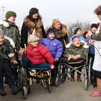 Фото - видеорепортаж: в Запорожском интернате дети с особыми потребностями обрели