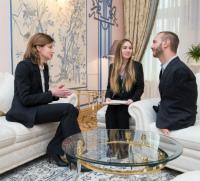 Maryna Poroshenko discussed the reform of inclusive education in Ukraine with Nick Vujicic