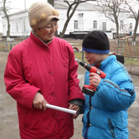 Отчет о работе фонда в Калиновке в январе 2013 года