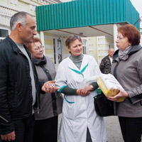 Collected Supplies for Disabled Children Delivered to the Chernigov Child's Home