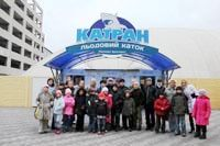 """Photo gallery: This Saturday became """"an Ice Age"""" for Zaporozhye children"""