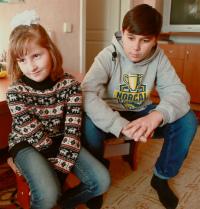 Детям нужна семья: Катерина В. (09.11.2010) и Теймур В. (04.02.2006)