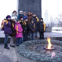 An Excursion to Kiev for children from orphanages