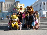 The Volnyansk children travel to the capital