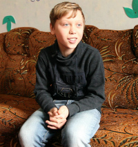 Ребенку нужна семья: Кирилл