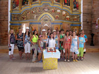 Photo-report: A trip to Khortitsa National Reserve was organized for the girls – pupils of the Kirovo orphanage