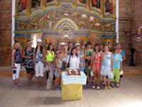Видеорепортаж: Для воспитанниц Кировского дома инвалидов была организованна поездка в Национальный заповедник Хортица