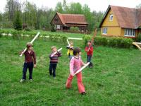 Детское экосело в Украинке