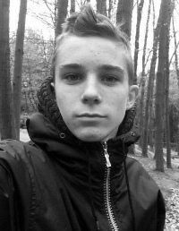 Daniel Korzh, 18 years old – stage 4 Ewing's sarcoma