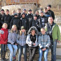 Children from the Zaporozhye and Donetsk Regions Went on a Hiking Tour to the Crimea on March 24-27, 2012
