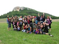 A Hiking Trip to the Western Crimea for Foster Children (May 21-24, 2012)