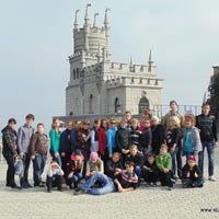 Twenty-five children from large families visited Yalta, Foros and Sevastopol during autumn holidays