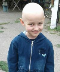Sergey Krivorotov, 7 years old – Cancer of the spine (mesenchymoma)