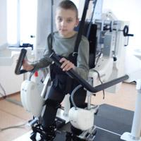 Vladislav Logvin, born in 2004 -  cerebral palsy
