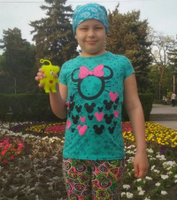 Anastasia Makarenko, 10 years old - Diffuse large B-cell lymphoma