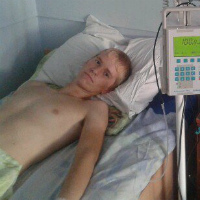 Vadim Melnichuk, 17 years old - an acute lymphoblastic leukemia