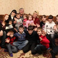 Mother's Happiness: A Family in the Zaporozhye Region Has Brought Up 30 Children