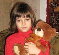 Anastasia Ocheretko, born in 2002 - Hemorrhagic stroke, cerebral artery aneurism