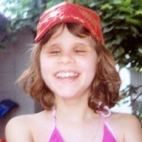 Iryna Nemchenko, born in 2000 - retinopathy of prematurity (5th stage)