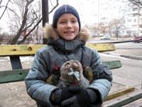 Oleg Babich, born in 2004,- organic defects of CNS