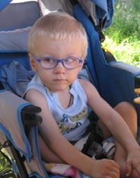 Bogdan Paul 3 years - Cerebral Palsy