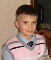 Vlad Penchuck, 11 years old – pneumococcal meningitis