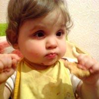 Maria Prymak, born in 2011, - retinopathy of prematurity (5th stage)