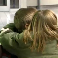 Adopted siblings from Ukraine reunited after years apart