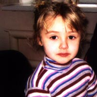 Olga Smola, born in 2007 – two-sided sensorineural hearing loss (4th stage)