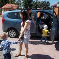 Социальное такси от фонда «Счастливый ребёнок»