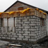 The Roof of Kalinovka Happy Home-2 Will Soon Be in Place. Thank You for All Your Help!