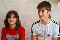 A Child Needs a Family: Karina V., born in 2000, Svyatoslav V., born in 1996