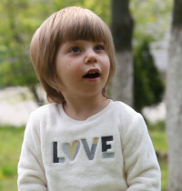Child needs a family: Ulyana, born May 12, 2015